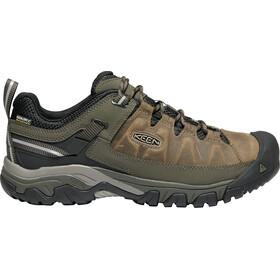 Keen Targhee III WP Shoes Men bungee cord/black